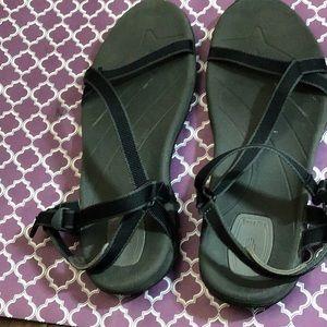 Teva Black Sandals